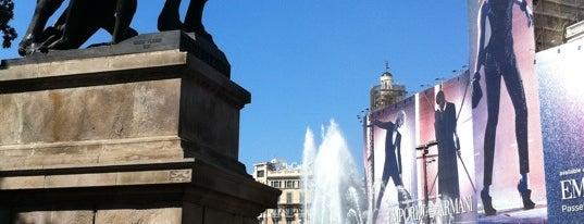 Plaça de Catalunya is one of BCN musts!.