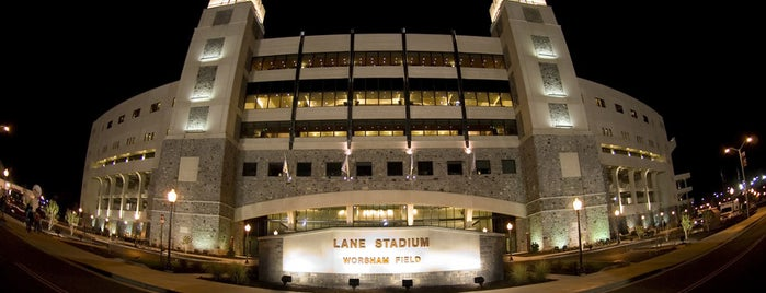 Lane Stadium/Worsham Field is one of Amarica Football.