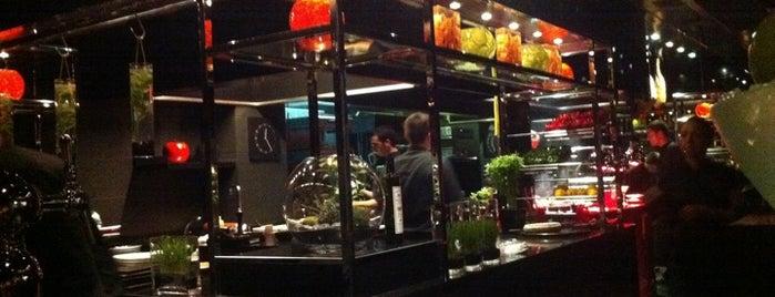 L'Atelier de Joël Robuchon is one of Paris Eating.