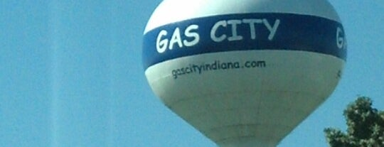 Gas City Water Tower is one of Lugares favoritos de Andrew.