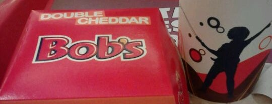 Bob's is one of Pra matar a fome.