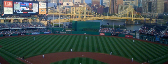 PNC Park is one of MLB Stadium Quest.
