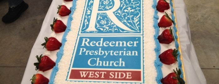 Redeemer Presbyterian Church is one of NYC.
