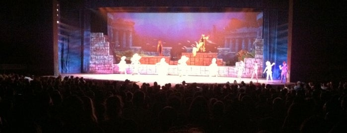 Nautilus Theater is one of My vacation @Orlando.