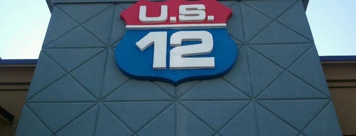 US-12 Bar & Grill is one of restaurants and bars around the world.