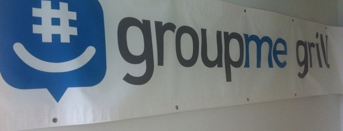 GroupMe HQ is one of Silicon Alley, NYC.