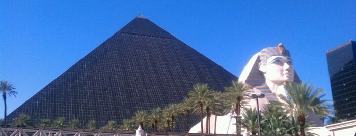 Luxor Hotel & Casino is one of Vegas Death March.