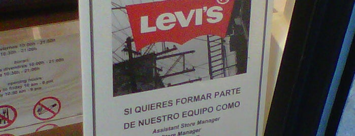 Levi's is one of Ofertas de Trabajo Comercios Barcelona.