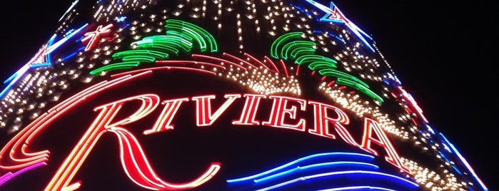 Riviera Hotel & Casino is one of CASINOS.