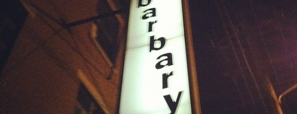 The Barbary is one of Philly Local Badge.
