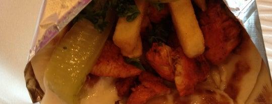 Baba Ghannouj Mediterranean Bistro is one of Bull City Foodie Favorites.