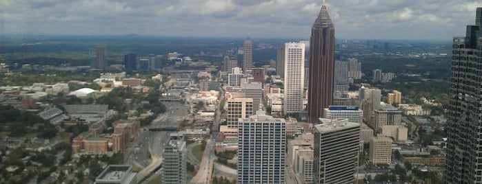 Sun Dial Restaurant, Bar & View is one of Recommendations in Atlanta.