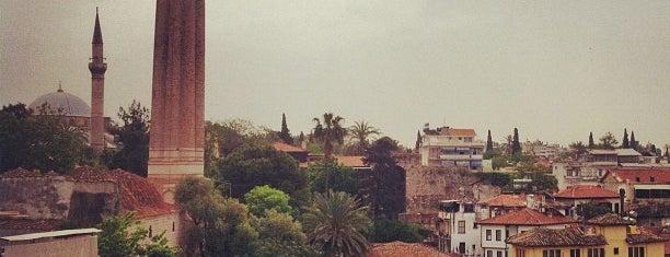 Yivli Minare is one of Sights of Antalya /Достопримечательности Анталии.