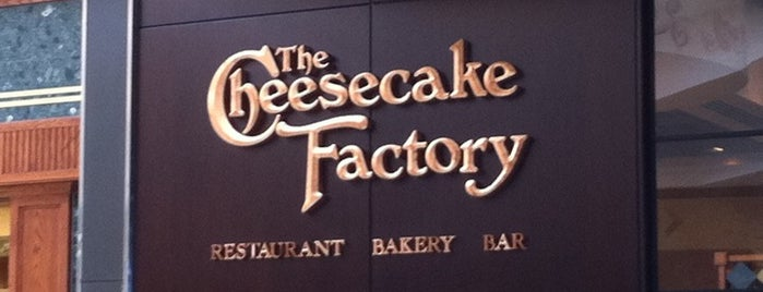 The Cheesecake Factory is one of Fernando'nun Beğendiği Mekanlar.