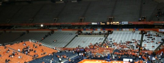Carrier Dome is one of Great Sport Locations Across United States.