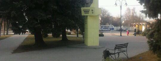 Памятник Хоружай is one of Пинск.