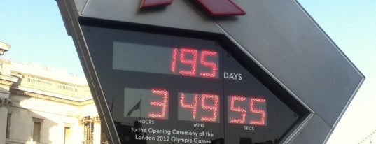 London 2012 OMEGA Countdown Clock is one of UK.