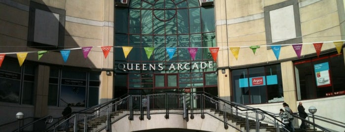 Queens Arcade is one of Local's Guide to Cardiff.