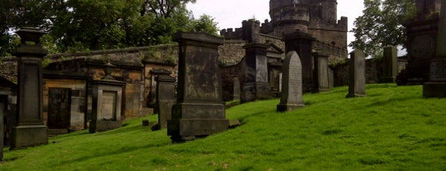 Old Calton Burial Ground is one of Edinburgh.