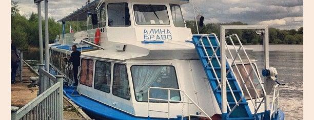 Причал «Троице-Лыково» is one of Москва.