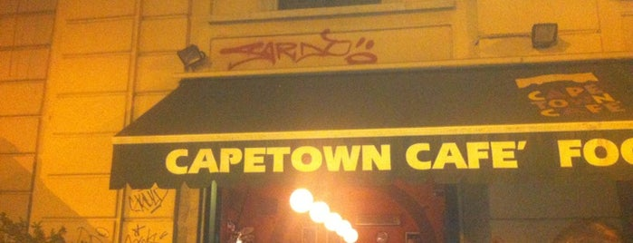 Cape Town Cafè is one of antares.