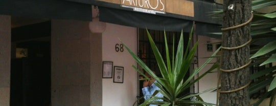 Arturo's is one of Mexico City Eats.