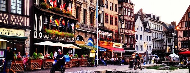 Place du Vieux Marché is one of ROUEN - City of Hundred Spires.