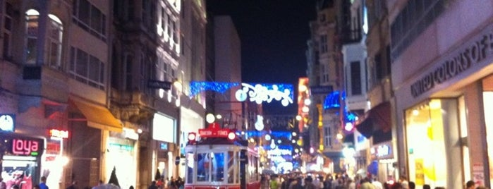 İstiklal Caddesi is one of Istanbul Tourist Attractions by GB.