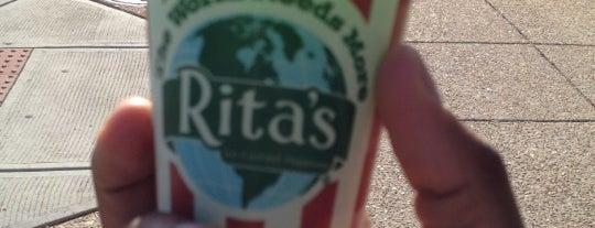 Rita's Italian Ice & Frozen Custard is one of Charise was here.