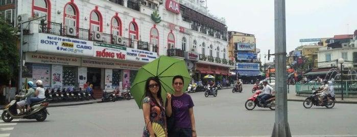Vòi phun nước Hồ Gươm (Ho Guom Fountain) is one of Hanoi 2014.