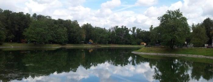 Парк «Останкино» is one of Москоу.