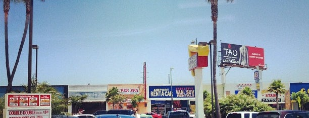 In-N-Out Burger is one of LA Haunts.