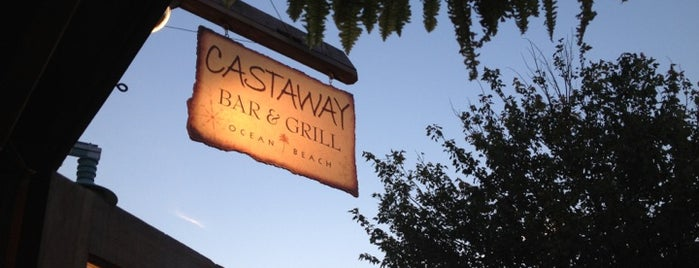 Castaway Bar & Grill is one of Out of town.