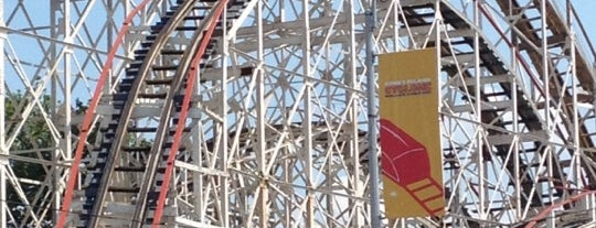 The Cyclone is one of National Rollercoaster Roundup.