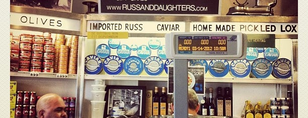 Russ & Daughters is one of [NY] Western/Fusion.