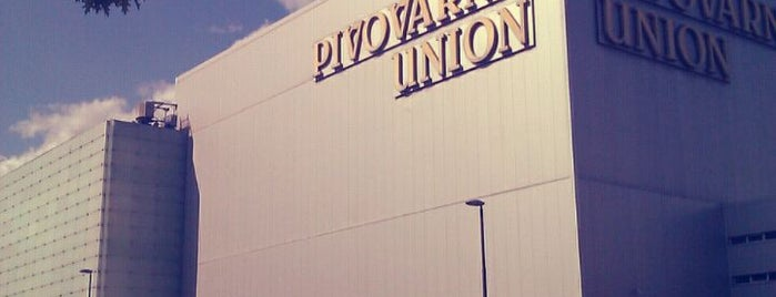 Pivovarna Union is one of Locais curtidos por Carl.