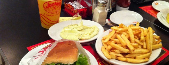 Joakin's is one of Sao Paulo's Best Burgers - 2013.