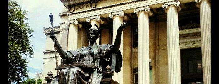 Columbia University is one of New York, New York.