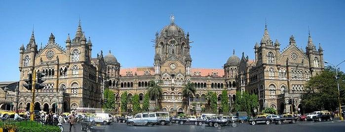 Chhatrapati Shivaji Maharaj Terminus is one of Mumbai, India.