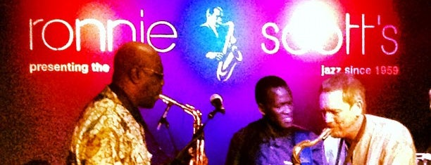 Ronnie Scott's Jazz Club is one of London things to do.
