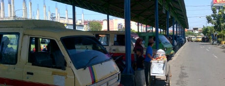 Terminal Joyoboyo is one of Characteristic of Surabaya.