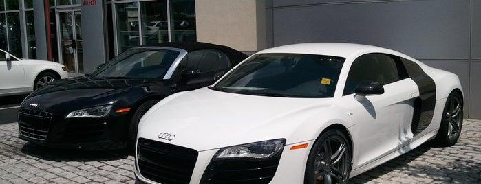 Audi Atlanta is one of Locais curtidos por Kimberly.