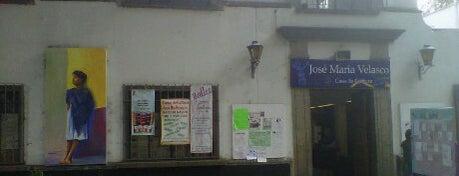 Casa de Cultura Jose María Velasco is one of Galerías y Museos @ DF.
