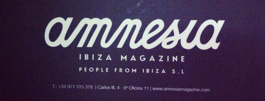 Amnesia Headquarters is one of Locais curtidos por Amnesia Ibiza.