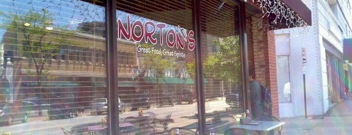 Norton's is one of Lieux qui ont plu à Matt.