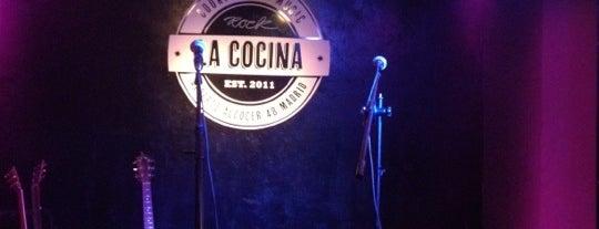 La Cocina RockBar is one of Madrid: Pub's, Terrazas, Cocktail's.