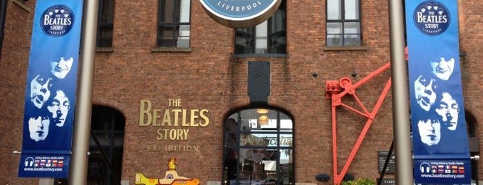 The Beatles Story is one of Lieux qui ont plu à Rob.