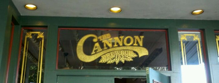 The Cannon Brew Pub is one of My favorites for Breweries.