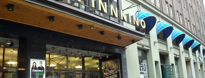 Finnkino Kinopalatsi is one of Lieux qui ont plu à T..