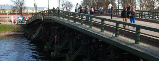 Кронверкский мост is one of Санкт-Петербург.